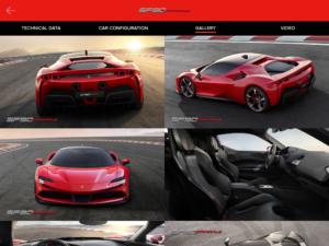 Universo Ferrari schermata